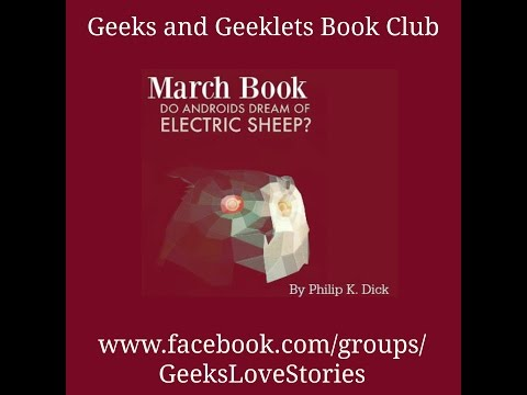 G&G Book Club Discussion: Do Androids Dream of Electric Sheep?