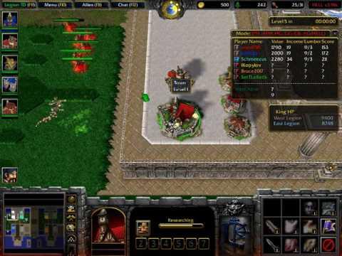 Warcraft 3: Legion TD HELL #1