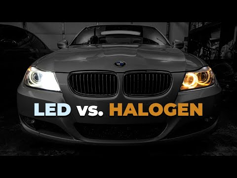 How To Install LUX H8 LED Angel Eyes In A BMW 335i! (E90 3 Series)