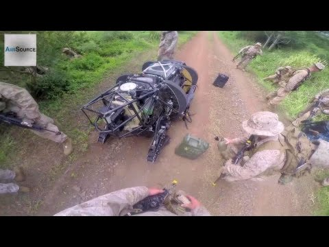 Download Youtube: Boston Dynamics LS3 Military Robot Delivering Water to U.S. Marines