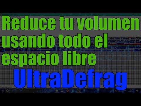 Windows 10 - Solucionar Problema De No Poder Reducir Volumen Con UltraDefrag