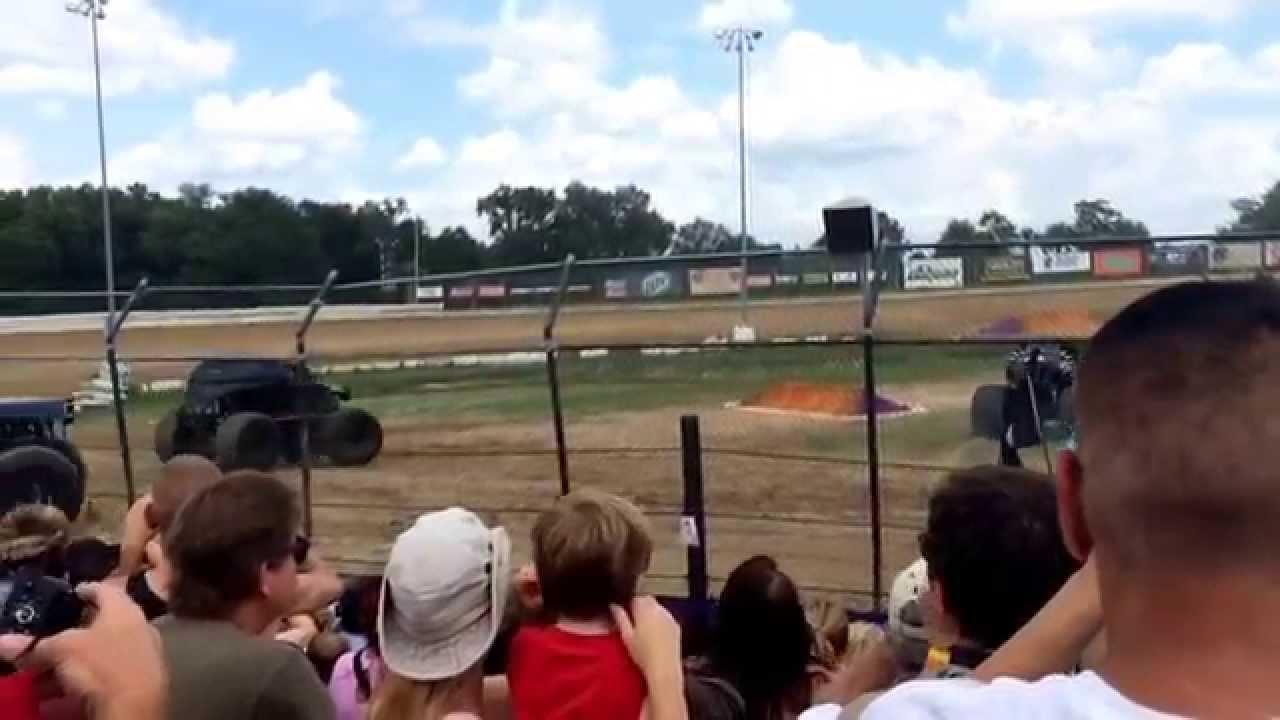 Monster jam ocala florida bubba raceway park 4 18 15