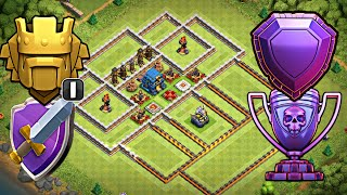 Th12 Trophy/War Base 2018 | Best Th12 Defensive Legend Base Design w/PROOF | Clash of Clans