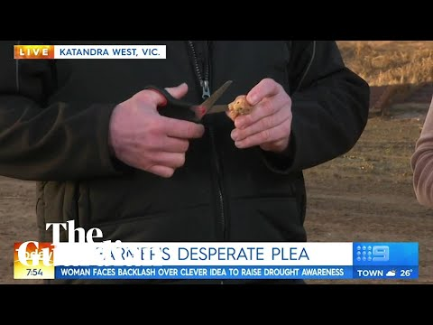 Why did two farmers destroy a rare ooshie live on the Today S?
