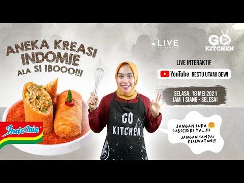 Aneka Kerasi Indomie Ala Si Ibooo (Live Stream)