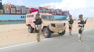 شاهد .. الدبابات والقوات الخاصة تفرض السيطرة في شمال سيناء.. فيديو