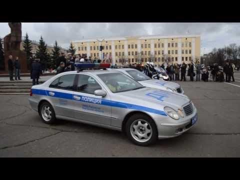 Демонстрация новых мотоциклов и машин. Киров