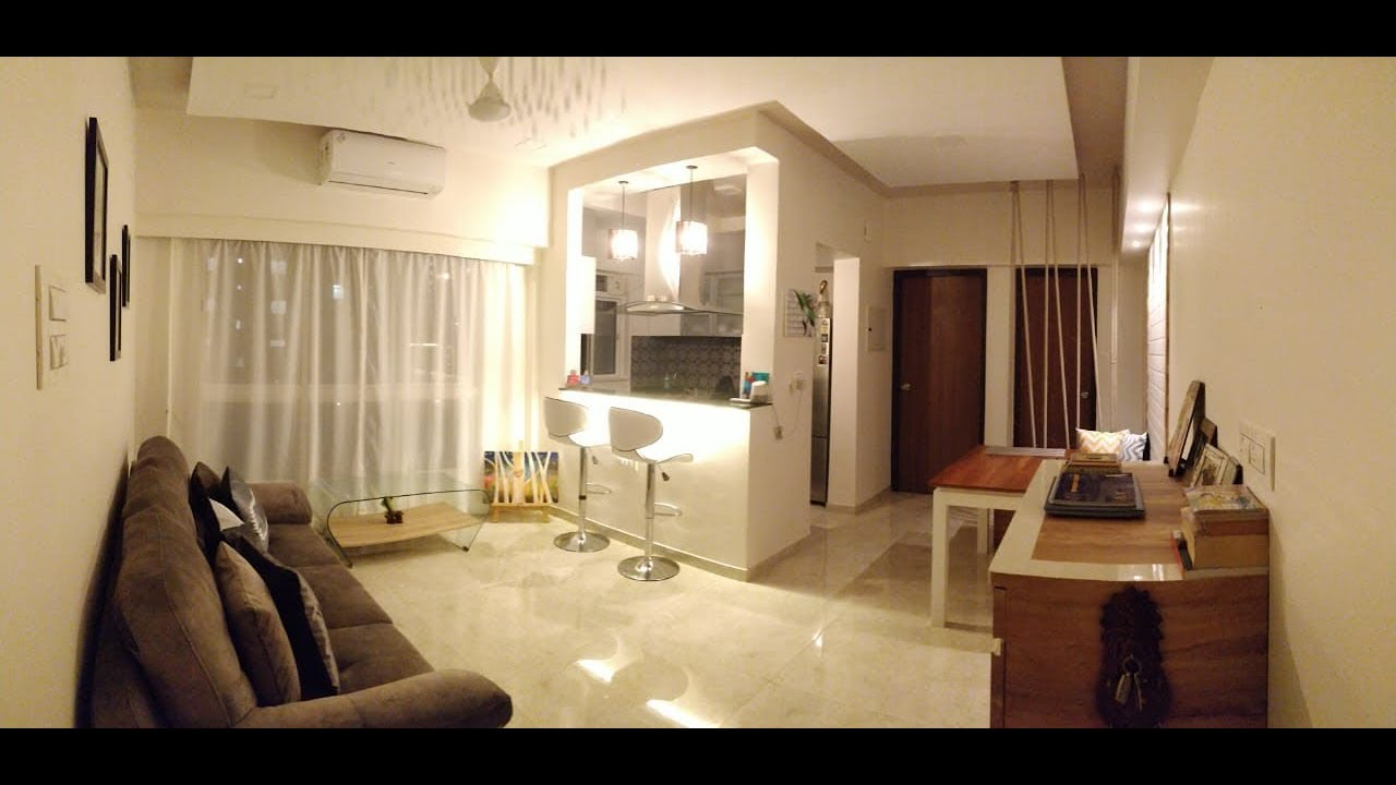 Mr Mrs Badgujar S 1bhk Modern Home Lodha Amara Youtube