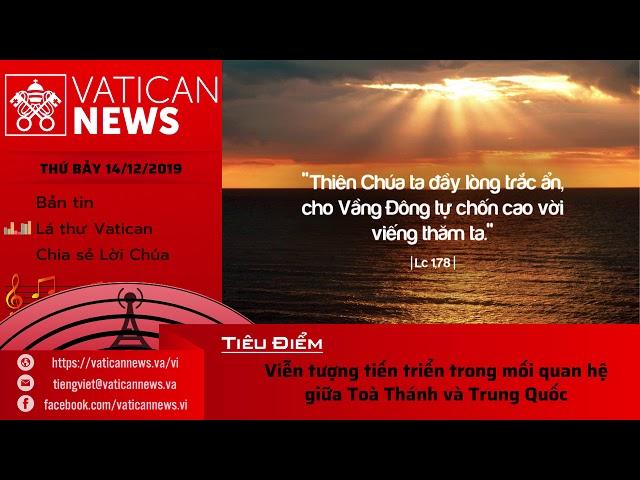 Vatican News Tiếng Việt thứ Bảy 14.12.2019