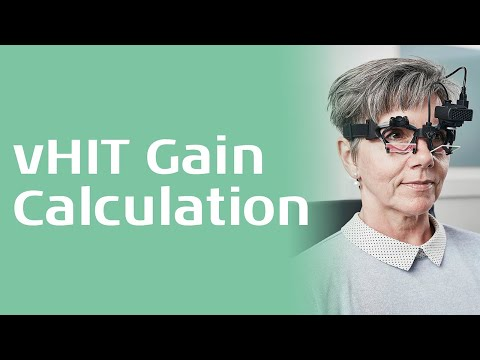 Gain calculation methods in vHIT
