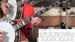 Blackberry Blossom Melodic Banjo Solo!