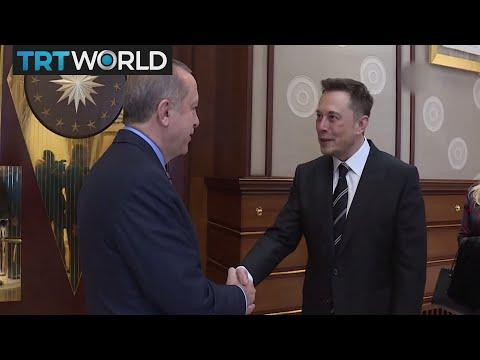 Money Talks: President Erdogan met Tesla CEO Elon Musk