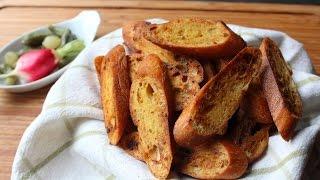 Crostini Dijonnaise - Mustard Flavored Crostini Recipe
