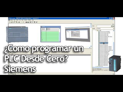 Cómo Programar Un Plc Desde Cero Sigma Imecsa Cursos De Plc Step 7 Youtube