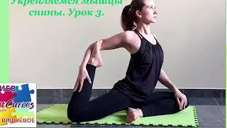 Урок 3 Комплекс ПИЛАТЕС для укрепления спины в домашних условиях
