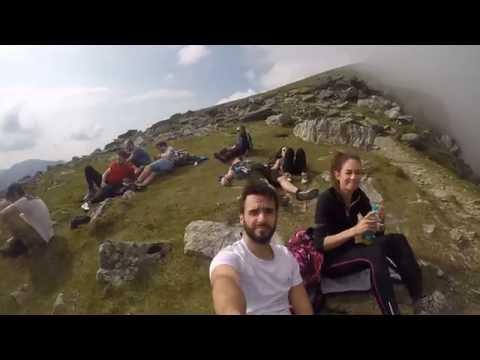 Mini trip to Wales (Snowdonia, Rafting and Gorge Walking!) (Gopro)