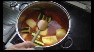 Cuisine Tunisienne - Couscous au Poisson, aux coings et aux pommes