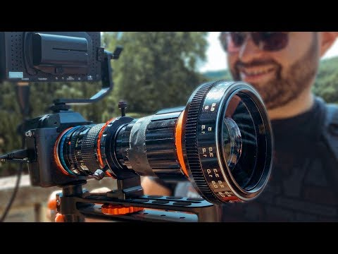 Mixing Weird Lenses With Anamorphic Lenses (Crazy Bokeh)