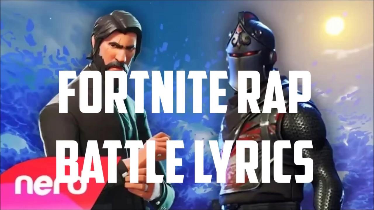 Fortnite Rap Battle Lyrics!! - YouTube