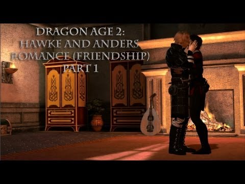 Dragon Age 2: Hawke and Anders (Friendship) Romance part 1