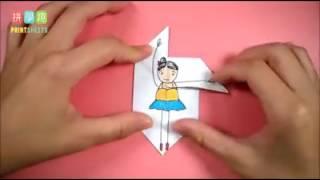 Как сделать балерина своими руками 😁😊