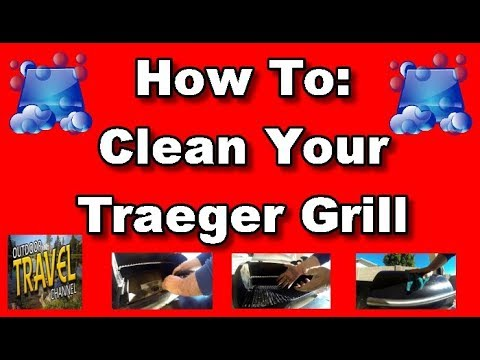 How To Clean Your Traeger Grill Made Easy | Traeger Grill Care |  #traegergrill by RangerRob