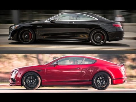 2018 Bentley Continental Supersports vs. Mercedes-Benz S65 AMG Coupe ...