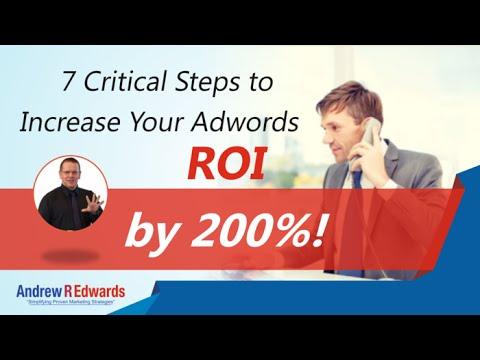 Google Adwords Management Consultant Reveals 7 Critical Strategies