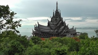 Храм истины в Паттайе (The Sanctuary of Truth) Тайланд.(Храм Истины (Sanctuary of Truth, также называется Ванг Боран (Wang Boran) и Прасат Май (Prasat Mai)) представляет собой 105-метров..., 2016-07-13T11:35:56.000Z)