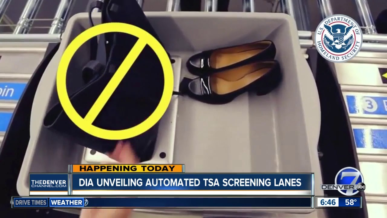 DIA, TSA debut new automated screening lanes at security checkpoint