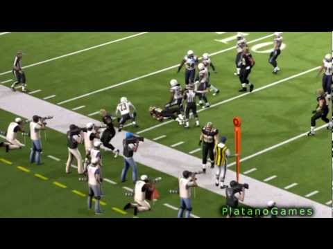 17 Yard Run Pierre Thomas! SD Chargers vs NO Saints - Madden NFL