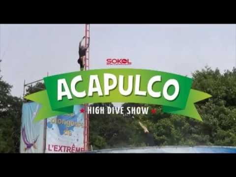 Pleasurewood Hills ACAPULCO High Dive Show 2014