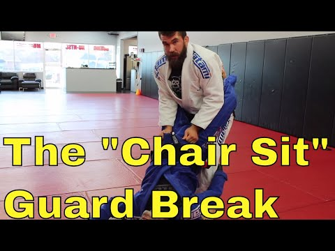 Crack Open a Strong Full Guard with this Standing Break in BJJ
