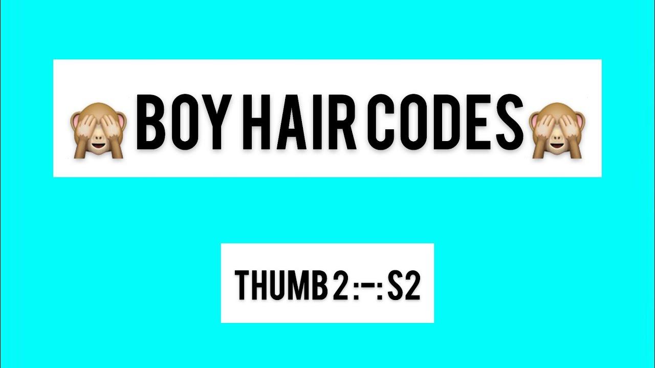 Boys Hair Codes 1 Youtube