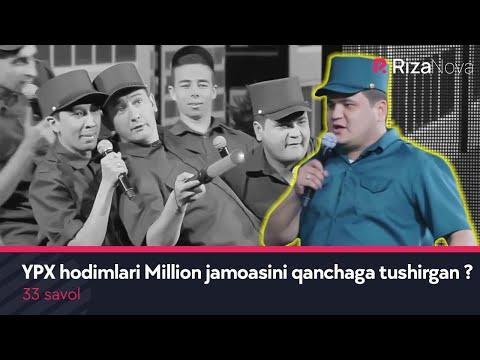 33 savol - YPX hodimlari Million jamoasini qanchaga tushirgan ?