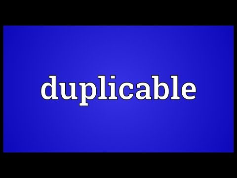 Header of duplicable