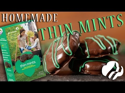 Homemade Girl Scout Thin Mints | Just Add Sugar
