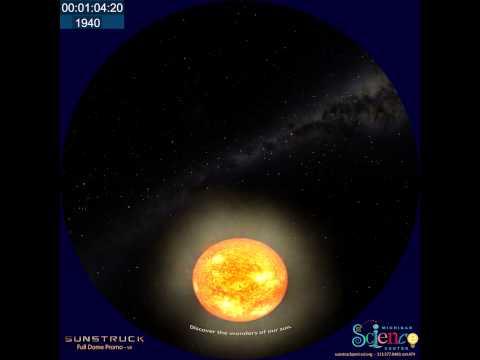 SunStruck Full Dome Planetarium Show Trailer