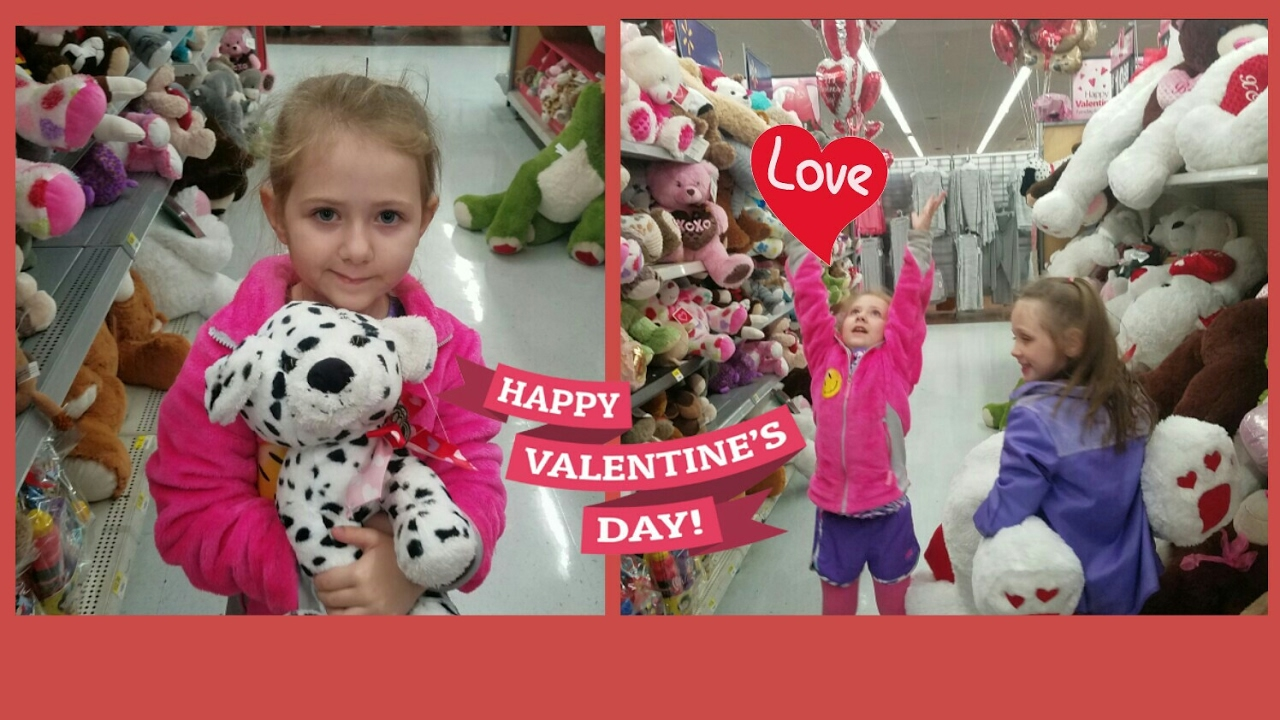 Valentines Shopping At Walmart With Hundreds Of Big Cuddly Bears YouTube