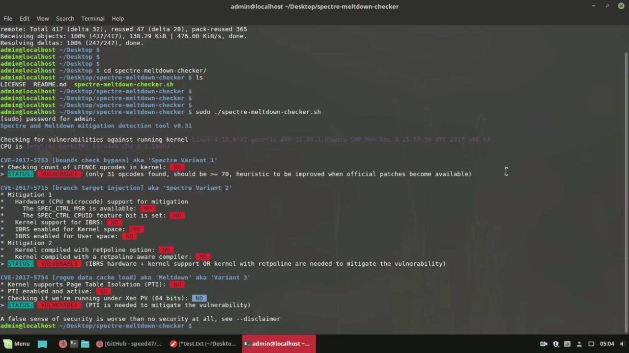 meltdown patch ubuntu 16.04