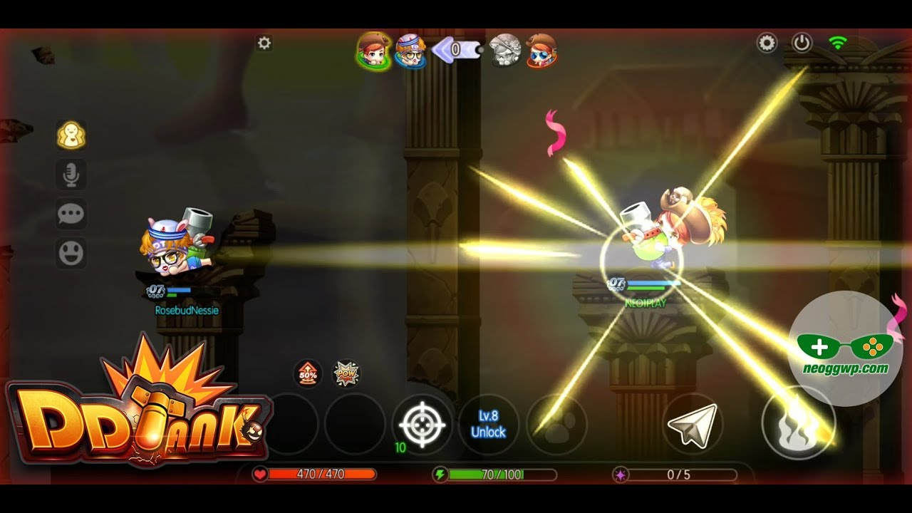 DDTank - NEO GGWP | Android iOS Gameplay APK