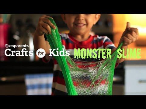 DIY Monster Slime | Crafts for Kids | PBS Parents