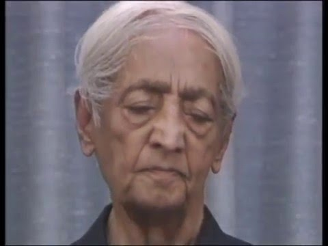 What is intelligence? | J. Krishnamurti