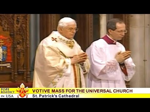 Holy Mass with Pope Benedict XVI from New York (Apr 19, 2008)