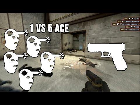 CS:GO Bl0tix Fragmovie | 2# | 1vs5 Glock Ace