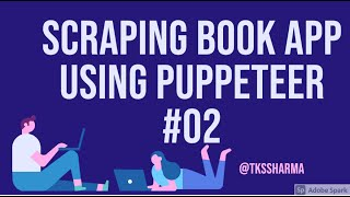 Scraping Book Website with Puppeteer and cheerio    Part-2