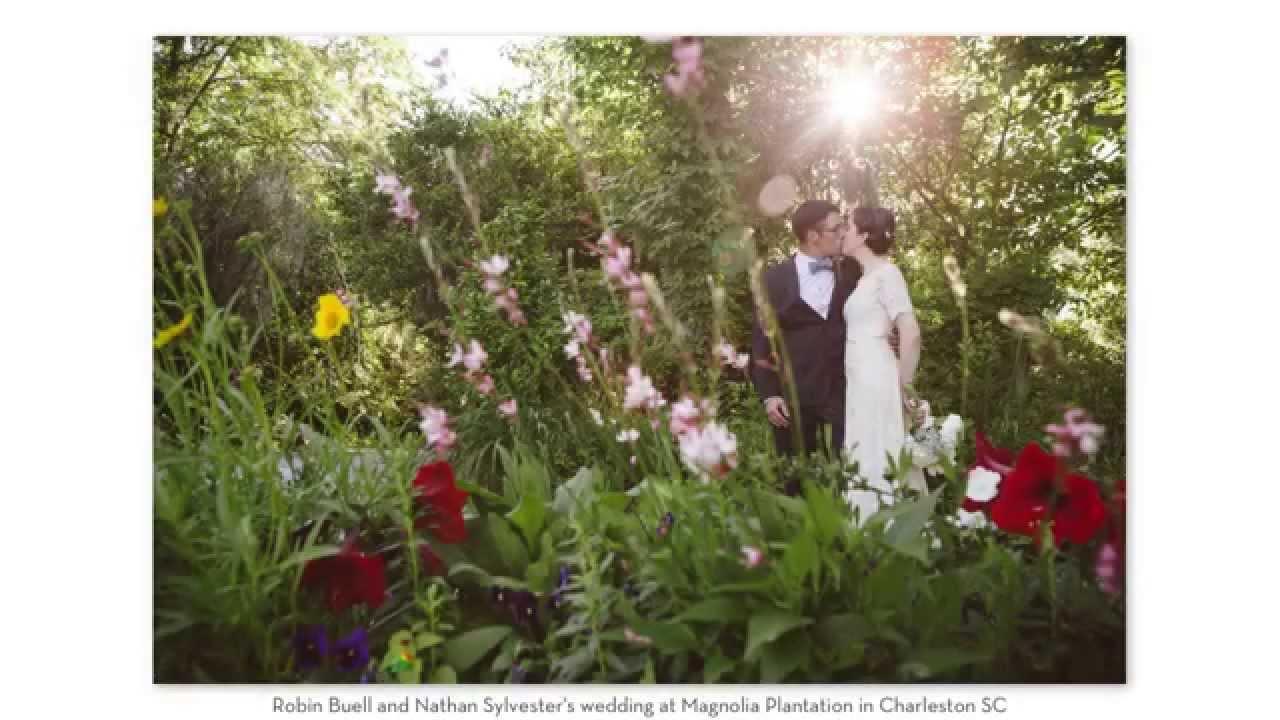 robin + nathan . magnolia plantation conservatory wedding ...