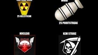 Call of Duty   Tactical Nuke vs Moab vs Nuclear vs Kem Strike.