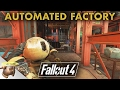 AUTOMATED FACTORY AT THE MECHANIST'S LAIR: Fallout 4 settlement build-off!