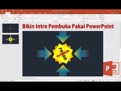 Cara Membuat Intro Video Pembuka dengan Animasi PowerPoint